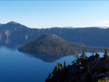 Crater Lake Oregon - Bike Trip