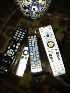 Can you see why we need a universal remote?!