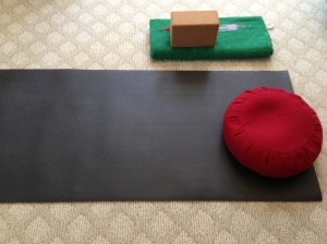 My mat awaits....