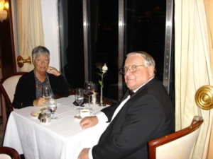 Mom and step-dad on a cruise in 2006