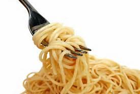 Pasta...my comfort food of choice.