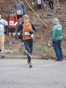 Me...running in my last JFK-50 mile race