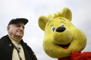 Dr. Hans Riegel and his 'Gold Bear