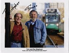 Tom and Ray Magliozzi....also known as Click and Clack