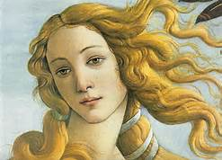 Botticelli's Venus....My sister's skin is even prettier however....