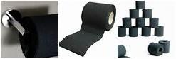 Black Toilet paper is popular too.