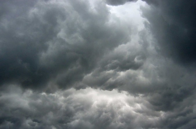 A Death Eater is surely going to pop out of this ominous cloud!
