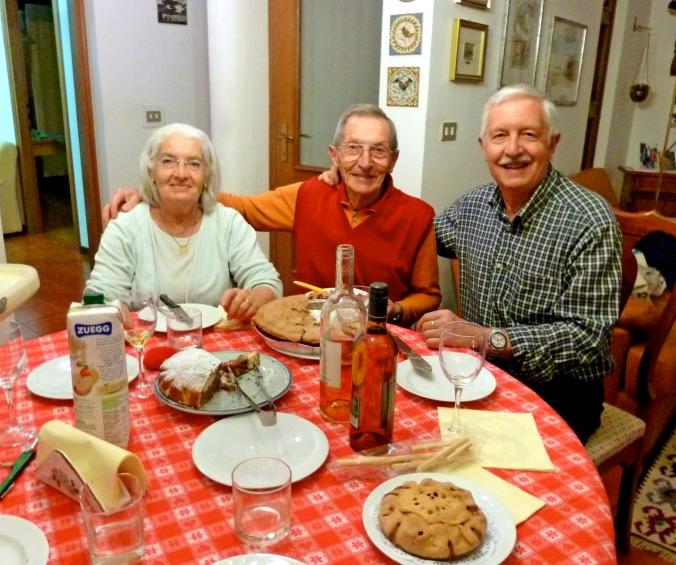 A few members of my Italian family; beautiful, wonderful souls