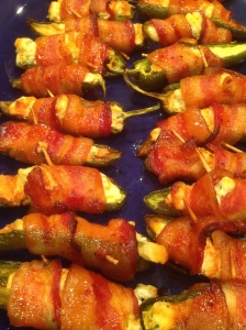 Who doesn't like something wrapped in bacon!