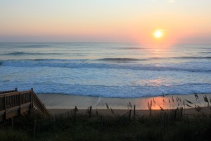 Sunrise in the Outer Banks, North Carolina