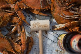 Crab Mallet.  It's good for breaking apart crab legs...or possibly using as a weapon.