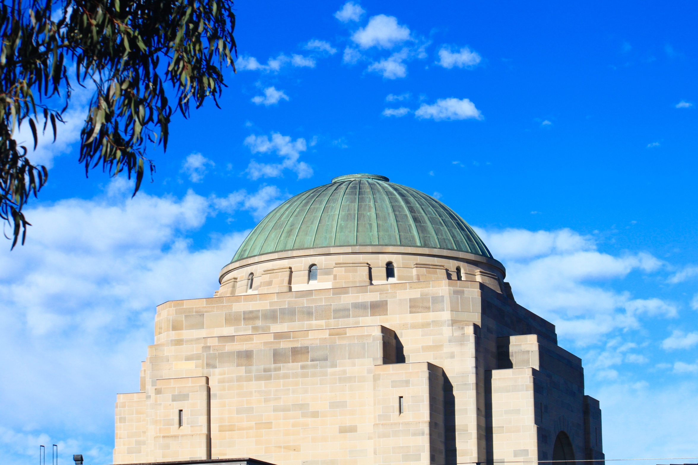 Australian War Memorial; view from the back