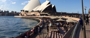 A view of Sydney Opera House