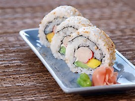 I do enjoy the refreshing taste of California Rolls