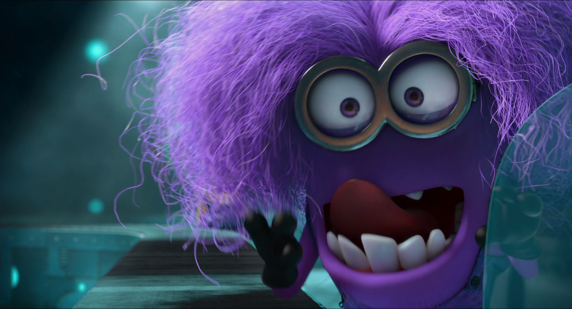 Purple Minion Moment: I am not chilled.